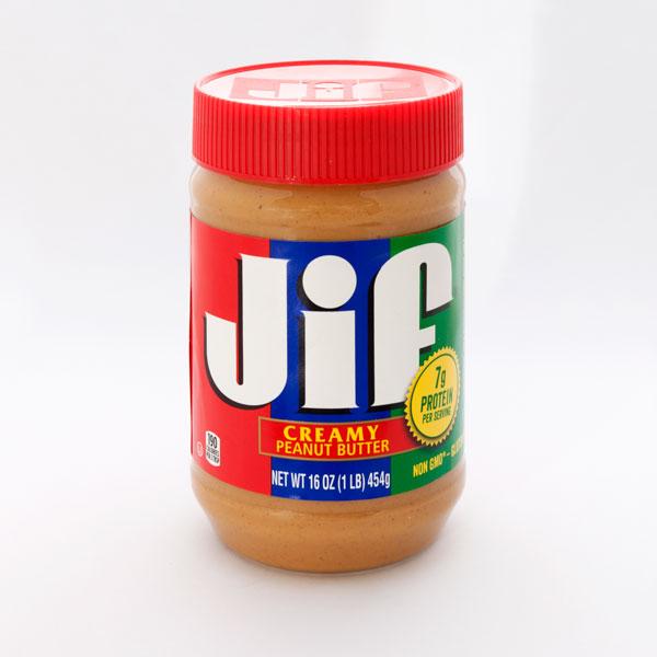 Jif クリーミー ピーナッツバター 454g
