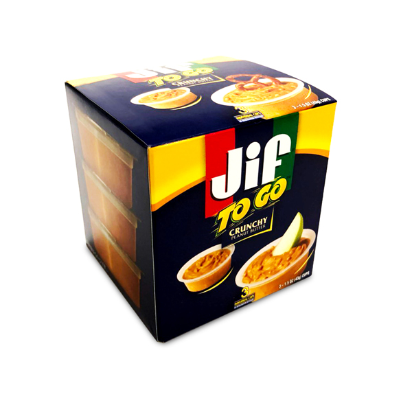 Jif ピーナッツバター TOGO クランチ 3個入り