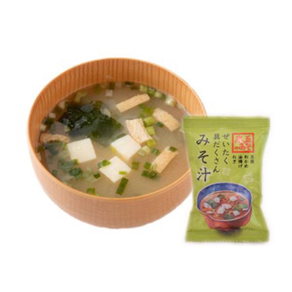 越前おみそ汁(豆腐)