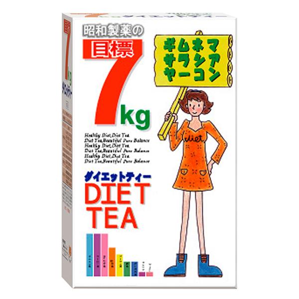 目標7kg ダイエットティー