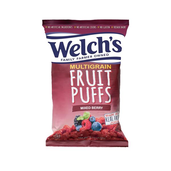 Welch's フルーツパフ ミックスベリー 170g